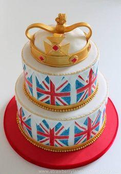 London themed cakes