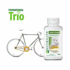 The chain is the 'heart' of the bicycle and keeps the bike moving. Take care of your heart! Use Omega-3 fatty acids, which support the normal function of the heart. For more visit: http://oak.ctx.ly/r/4ut75