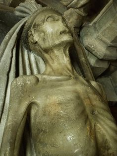 Transi tomb in Wells Cathedral (I think)