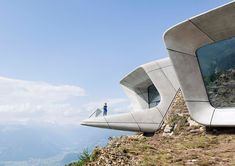 Messner Mountain Museum Corones by Zaha Hadid | Inspiration Grid | Design Inspiration
