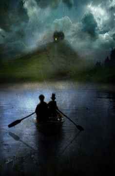(Colour version was used as a cover for a Spanish collection of Robert Louis Stevenson stories; the name of the artist would be greatly appreciated. Nocturne, Illustrations, Illustration Art, Robert Louis Stevenson, Foto Art, Jolie Photo, Dark Art, Les Oeuvres, Fantasy Art
