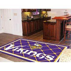 Minnesota Vikings NFL Floor Rug (5x8')