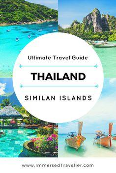 Ultimate Travel Guide: Similan Islands, Phuket - Thailand