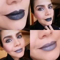 Black and grey lips cual prefieres