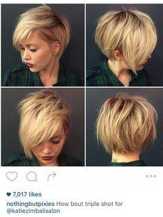 Asymmetrical Bob #texture #blonde #assymetrical: