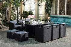 37 best Meubles jardin images on Pinterest   Furniture, Canapes and ...