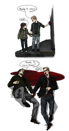 """Ready to cross?"" 