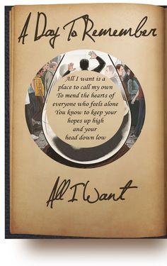All I Want #ADTR