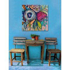 Floral Dimensions - ART in Szene - Kunst Canvas Art Prints, Painting Prints, Painting & Drawing, Painting Inspiration, Art Inspo, Art Sur Toile, Oil Painting Flowers, Abstract Flowers, Abstract Flower Paintings