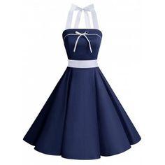 GET $50 NOW | Join Dresslily: Get YOUR $50 NOW!https://m.dresslily.com/halter-bowknot-lace-up-pin-up-dress-product2146534.html?seid=IbUA2QU0Uh0KdSbUj44G8A03IS
