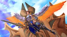 Furia, the Angel of Vengeance by https://darknessringogallery.deviantart.com on @DeviantArt
