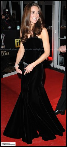 Kate Middleton in Alexander McQueen - how perfect does she look?