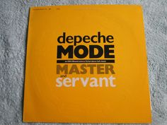 Master & Servant DEPECHE MODE P276 Limited edit UK 12  Inch Vinyl picture sleeve #collectiblemusic