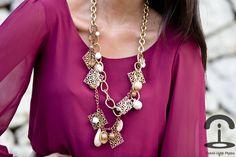 Crimenes de la Moda: DIY:Collar con cadenas y charms