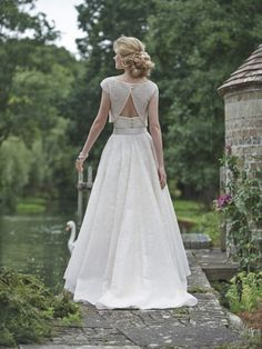 Amalfi Dress with Capri Shrug Stephanie Allin 2016 Love Letters Collection - Designer bridal wedding dresses of unmatched quality.