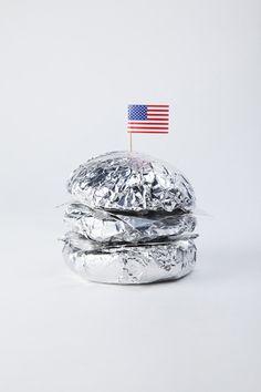 NASA - on the moon (Tinfoil burger)