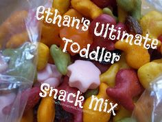 The Thriftiness Miss: Toddler Snack Mix