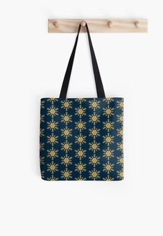 Golden Glitter Sparkle Snowflake on Christmas Midnight Blue by podartist Dazzling sparkling photo-effect fine gold glitter snowflakes with twelve double forked branches and center star on Midnight Blue Blue Throws, Blue Throw Pillows, Golden Glitter, Custom Tote Bags, Designer Throw Pillows, Iphone Wallet, Pillow Design, Midnight Blue, Branches