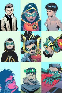Damian Wayne he is so adorable