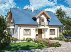 DOM.PL™ - Projekt domu ARP AMANT CE - DOM AP1-30 - gotowy koszt budowy Home Fashion, Cabin, Mansions, House Styles, Outdoor Decor, Home Decor, Wish, Decoration Home, Manor Houses