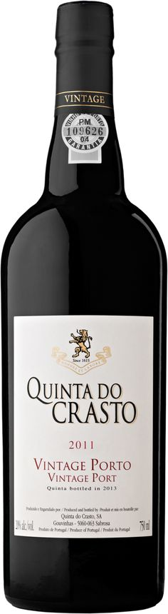 Quinta do Crasto Porto Vintage 2011 Quinta bottled in 2013