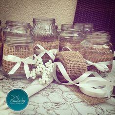 #vintage #vintagestyle #vintagelook #decoration #inspiration #hochzeit #wedding #vintagewedding #weddinggift #jute #diy #jars