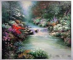 Image result for PAINTINGS BY THOMAS KINKADE