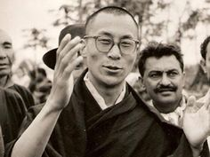dalai-lama-1959-  for me is Buddhism a lifestyle, not a belief!
