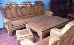 Bàn ghế gỗ lim tay hộp, chương voi - đồ gỗ chuyền lộc