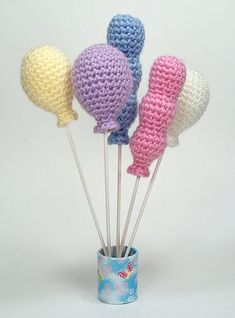 Crochet Balloons - Free Pattern