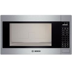 Bosch Stainless Steel 2.1 Cu. Ft. Built-in Microwave Oven - Overstock™ Shopping - Big Discounts on Microwaves
