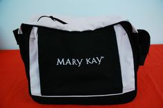 Mary Kay Consultant Black Pink Carry-On Director Bag Tote Briefcase Laptop