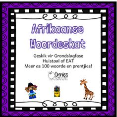 My opstel: Hoe kan ek verbeter? Afrikaans Language, Phonics Programs, Teacher Resources, Spelling, Worksheets, Hoe, Student, Teaching, Math