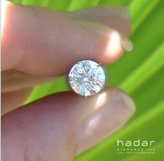 Take a look at this once in a lifetime 💠🔭 A brilliant Ct round laser drilled Diamond Sale, Drill, Diamond Earrings, Diamonds, Take That, Wedding Rings, Jewelry, Hole Punch, Jewlery