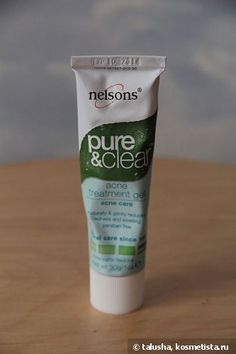 Nelsons Pure & Clear, Acne Treatment Gel - мое незаменимое Sos-Средство отзывы — Отзывы о косметике — Косметиста