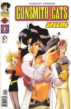 Gunsmith Cats F337e95468847e615c523b7c5787540e--geek-art-otaku
