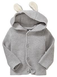 Peter Rabbit™ garter-stitch cardigan - Baby Gap WTW spring 2013
