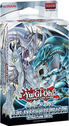 Yugioh Structure Deck: Saga of Blue-Eyes White Dragon Sealed $17.99 http://www.amazon.com/gp/product/B00EAE4C7O?ie=UTF8&camp=1789&creativeASIN=B00EAE4C7O&linkCode=xm2&tag=coloredsandz-20