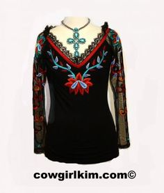 """Brands :: Vintage Collection :: Vintage Collection Fall 2014 """"Sunset Ballet Top"""" - Native American Jewelry