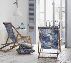 Chilienne tissus tropical via Goodmoods