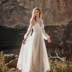 """248 Likes, 14 Comments - Elizabeth Dye (@elizabethdye) on Instagram: """"A million lights are dancing and there you are ... a shooting star. """"Xanadu"""" gown.…"""""""