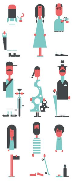 From character to type. From caos to shape. by Jonathan Calugi, via Behance