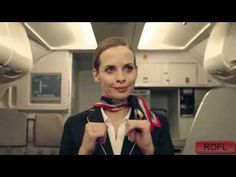 Zenonade - Plane / Stewardess funny commercial too relaxed