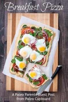 Guest Post: Breakfast Pizza, The Paleo Cupboard