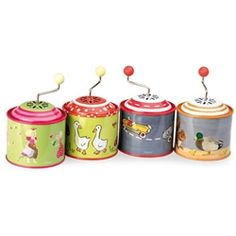 Musical Tin Box. I don't know why but I love these. They say for 3 years + but I loved playing it with Otis from 12 months and he could use it independently from around 14-16 months.