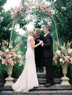 outdoor wedding ceremony  something similar