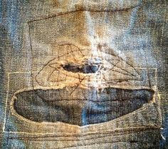 stitched and patched