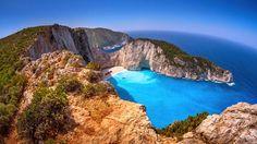 Mirando al mundo con sentimientos: La playa más hermosa de Grecia: Navagio
