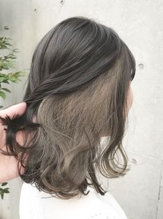 Blonde Underneath Hair, Hair Inspo, Hair Inspiration, Pelo Emo, Peekaboo Hair Colors, Hair Color Streaks, Aesthetic Hair, Hair Arrange, Hair Painting