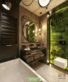 Bathroom suggestions, bathroom remodel, master bathroom decor and master bathroom organization! Bathrooms can be beautiful too! From claw-foot tubs to shiny fixtures, they are the master bathroom that inspire me the absolute most. Bathroom Layout, Modern Bathroom Design, Bathroom Interior Design, Modern House Design, Bathroom Designs, Modern Bathrooms, Small Bathrooms, Bathroom Goals, Diy Interior